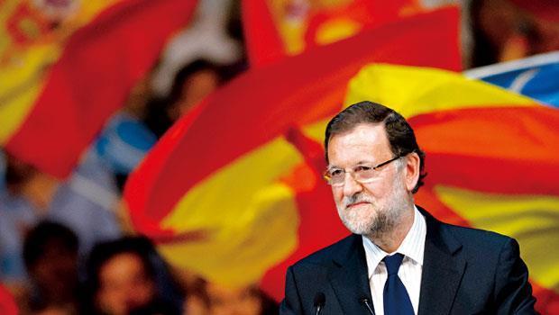拉霍伊的撙節政策讓西班牙重回復甦,但高失業率與「加獨」等政治風險,卻替西班牙經濟蒙上陰影。