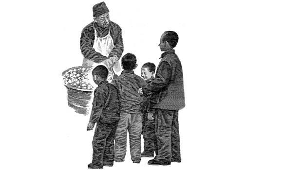 超暖心!4兄弟上街把買鹽的錢拿去買零食吃,媽媽不但沒生氣反而說了這句話...