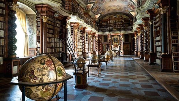 最強拍照景點!布拉格「世界最美圖書館」,有如霍格華茲真實版