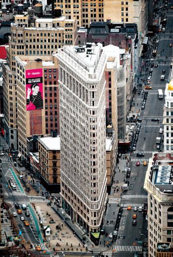從帝國大廈的觀景台看紐約曼哈頓