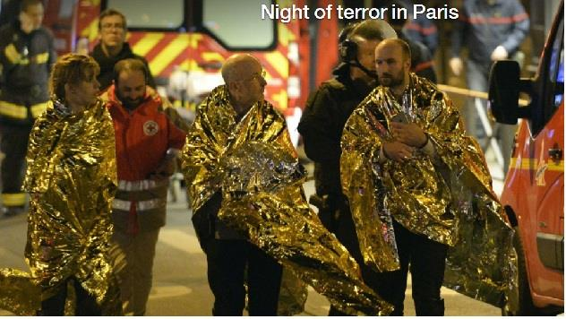 法國遭恐攻至少158人死 全國進入緊急狀態