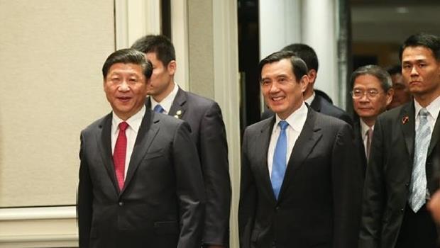 馬英閉門會議,馬對習說:「一中各表」的「九二共識」...獲得台灣多數民意的支持