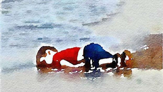還記得伏屍沙灘的小難民艾倫嗎?他也是穆斯林...請記住!穆斯林≠恐怖分子