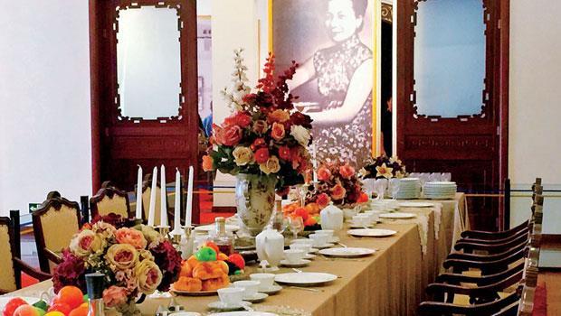 據說是當年蔣中正總統夫婦謁陵時所建的美齡宮