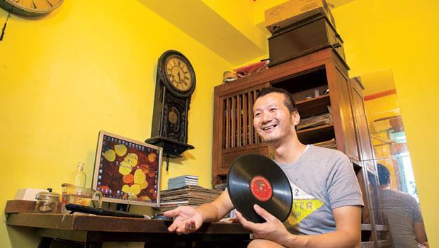 黑膠唱片收藏家-林太崴