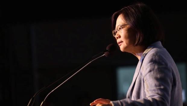 蔡英文:嚴肅提醒馬總統,台灣未來不能拿來做選舉操作