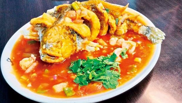 大晟的燒糖醋魚