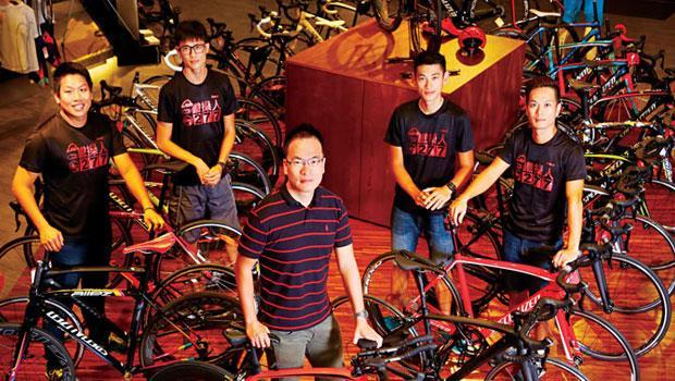 從傳統自行車店轉型成三鐵專門店的「277自轉車」