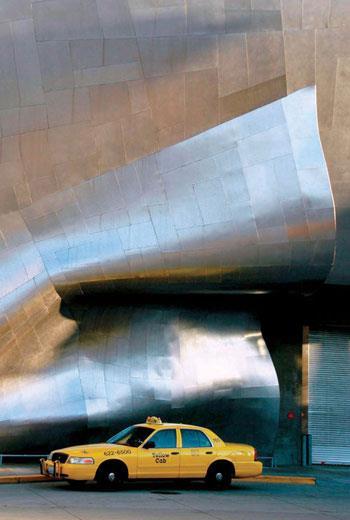 法蘭克‧蓋瑞(Frank O. Gehry)在西班牙畢爾包的建築作品