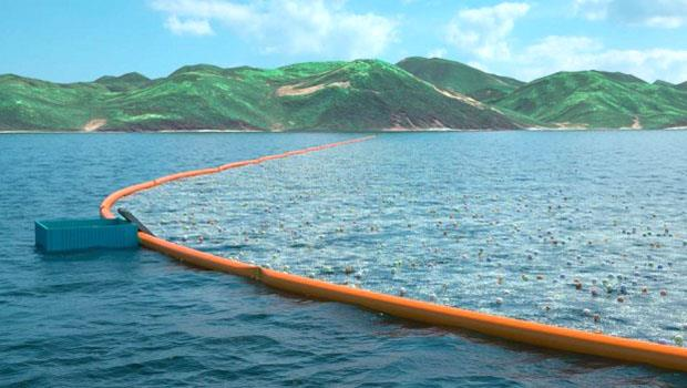 100名科學家證明可行!21歲青年發明「海中漂浮牆」,撈垃圾5年可賺164億