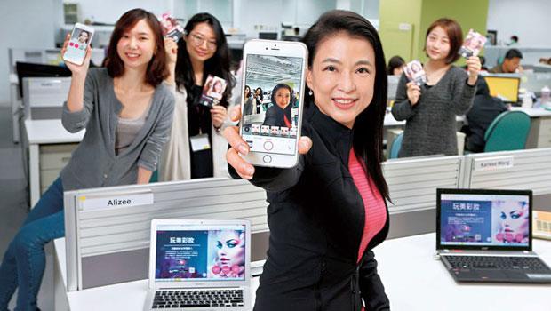 玩美彩妝App15 個月內在GooglePlay 達5 千萬次下載數,創台灣App 最快紀錄