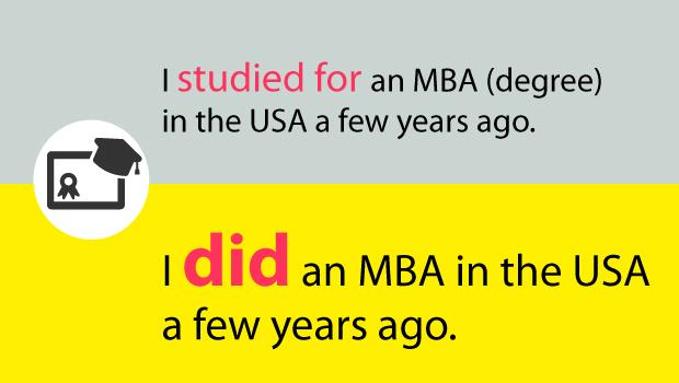 """I studied MBA in the USA""要秀學歷一開口就漏氣?你應該這麼說..... - 商業周刊"