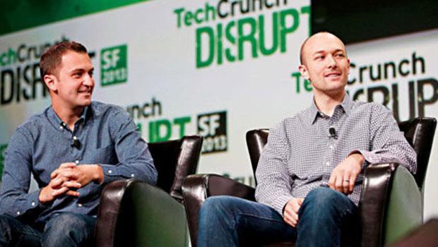辛默(左)是個魔術師,他和格林(右)創辦的Lyft能變出什麼魔術還有待觀察。