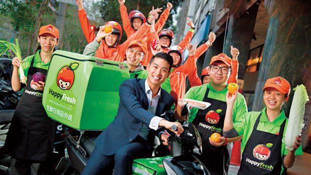 代購生鮮的概念類似Uber,大部分代購員是兼職,沒倉儲、物流,資產負擔輕。圖中為樂鮮執行長Ronald Chan。