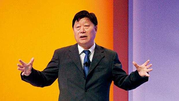 中國最大家電商海爾的執行長張瑞敏