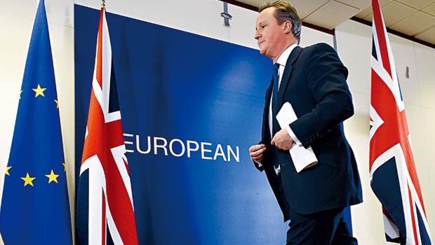 英首相卡麥隆為平息國內「疑歐派」聲浪,將舉行脫歐公投,他雖已替英國爭取「特殊地位」,仍無必勝把握。