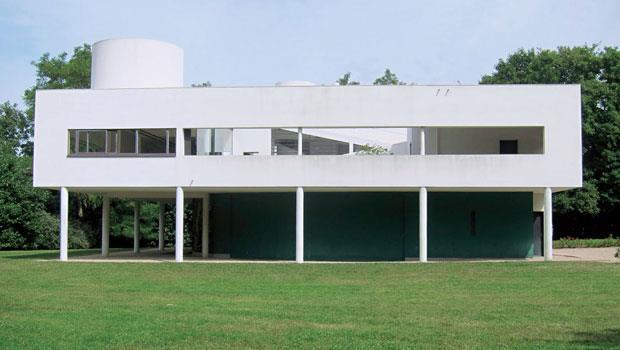 巴黎近郊的薩維亞別墅(Villa Savoye)