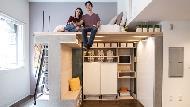 小坪數福音!一個家具就能變出主臥、客房、工作室、餐廳