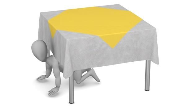 地震來襲躲桌底?萬一沒桌子怎麼辦