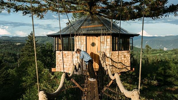 棄百萬年薪隱居森林蓋樹屋!美國27歲設計師年紀輕輕就退休圓夢