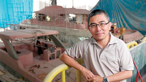 美國大型遊艇(78 呎以上)市場龍頭東哥董事長 曾雄威