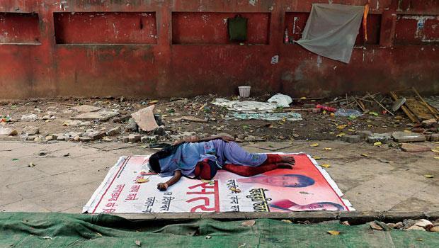 印度光是德里街友就超過10萬人,被子幫派雖做缺德生意,卻能彌補政府失能。