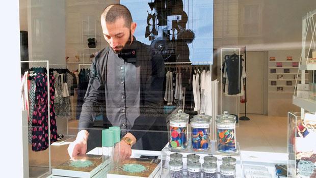 不走食品通路,XIE XIE特意進駐精緻的精品小店,圖為米蘭的選品店。