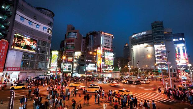 平均每二.五個外國觀光客,就有一人會來造訪西門町