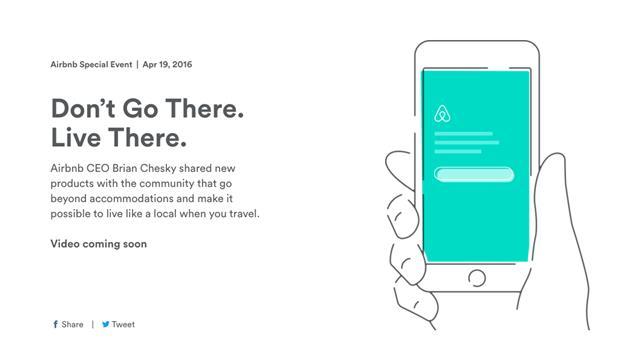 不只能找住宿!不當「觀光客」...Airbnb新功能,告訴你當地人喜歡去哪裡