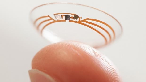 比google glass還厲害!三星新款智慧隱形眼鏡,眨眼就能拍照或攝影