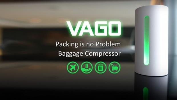 台灣設計!這款行李專用「真空機」,可以瞬間壓縮衣物、變出50%的空間
