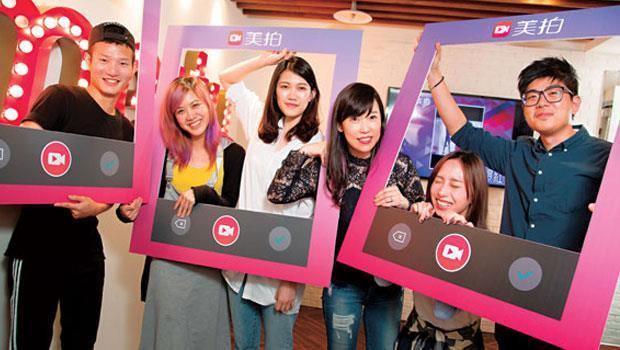 國、高中生對新事物敏感、接受度高,以美拍為例,其在台灣的用戶中青少年就占了4 成。