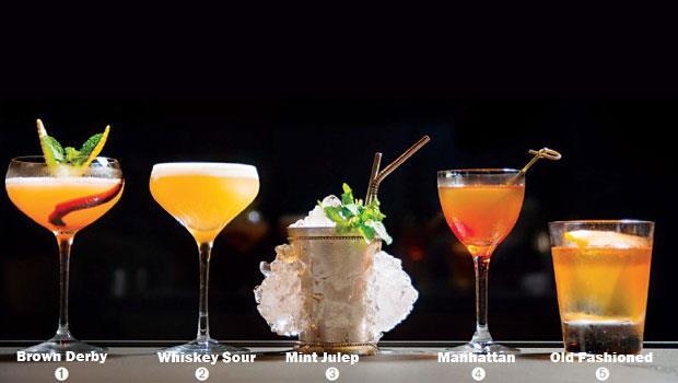 五款經典的雞尾酒,搭配最適合它們的波本威士忌。