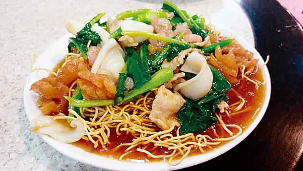 廣安樓的廣州炒麵