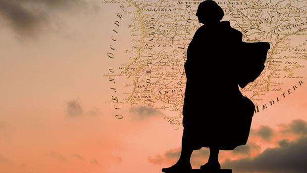 哥倫布 中世紀探險家,曾橫渡大西洋4次,到達美洲,開闢地理大發現時代。