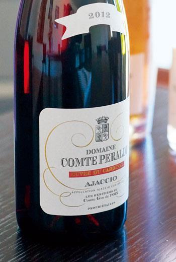 科西嘉島上被認為品質最佳的黑葡萄,其實是義大利中部非常常見的Sangiovese。