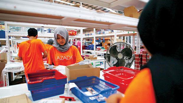 綜合電商Lazada 原母公司是德國Rocket Internet,現在營運觸角深入東南亞6 國。