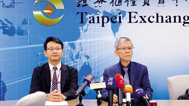 漢微科董事長許金榮(右)宣布,將以1 千億元的價格賣給荷商ASML,預計今年第4 季下櫃,引爆台灣市場激烈爭辯:好公司將一一離開台灣資本市場嗎?