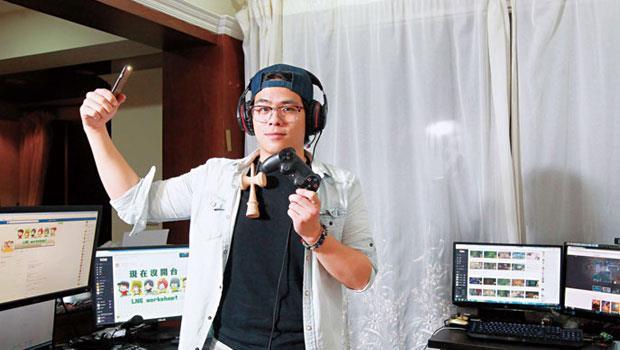 蘇志翔,人氣實況主,兩坪大的自家小房間就是他的直播間,從小學生到阿嬤都是粉絲。