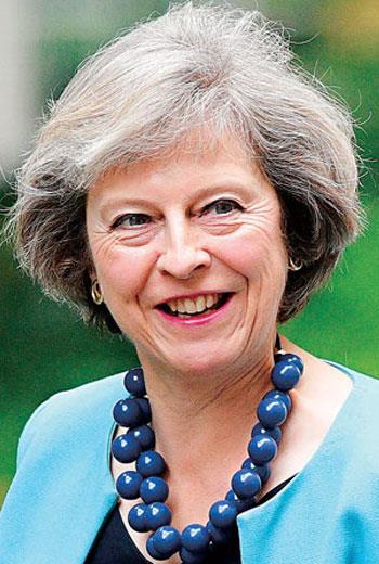 於2016年7月13日上任的英國首相梅伊