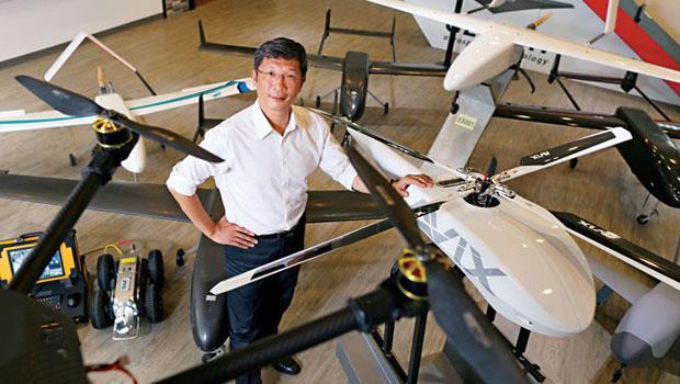 航太大廠漢翔出身的經緯航太董事長羅正方,以實機、服務應用到影像分析的一條龍服務,搶攻全球農業無人機的商用服務市場。