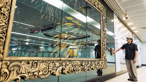 黃心健在台北捷運南港站的〈我們的私房公共藝術〉,把藝術、公共的距離縮短了。