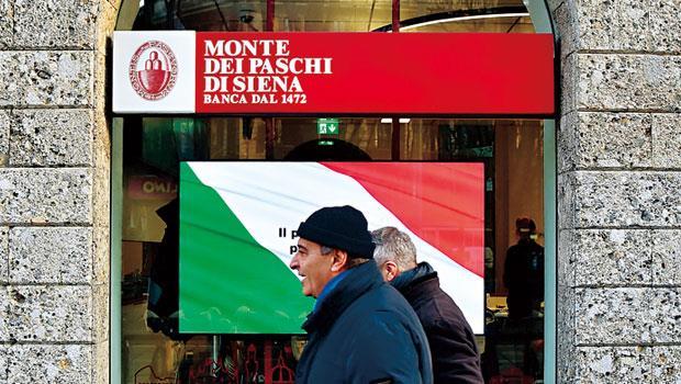 義大利銀行壞帳比率是美國銀行業10 倍,債權又多散戶持有,若出事將衝擊一般民眾。