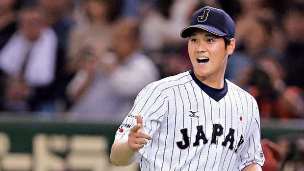 日本火腿隊投手、外野手 大谷翔平