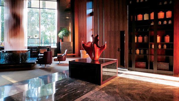 旅店設計上放了許多自然與地方元素,低調但用料十分用心。