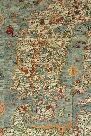 珍奇古地圖