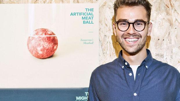 二十六歲的波爾在Space 10成立之初,便發表了驚豔全球的明日肉丸計畫(Tomorrow's Meatball),喚起大家對未來食物的關注。