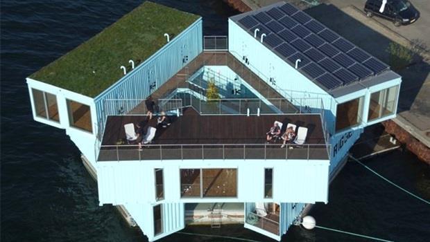 哥本哈根17坪學生公寓,月租2萬有找還有私人衛浴及廚房,竟是住在貨櫃屋