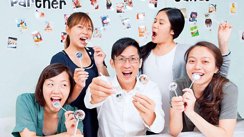 糖話國際執行長蔡明傑雖是理工男,但埋單他新發明的95% 皆女性。