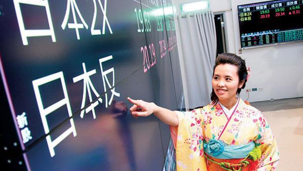 日股ETF 讓「錢」進日本的選擇更多,而且想放空或拉大槓桿操作都可以。